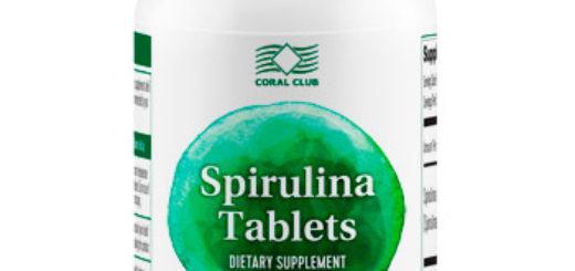 Спирулина в таблетках